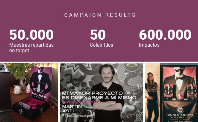 sampling, campaña, influencer